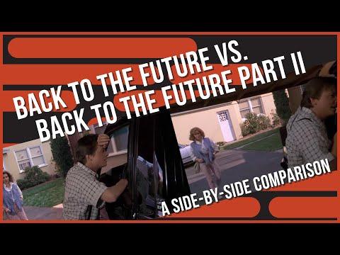 Back To the Future: Scene Comparison (1985 v. 1989)