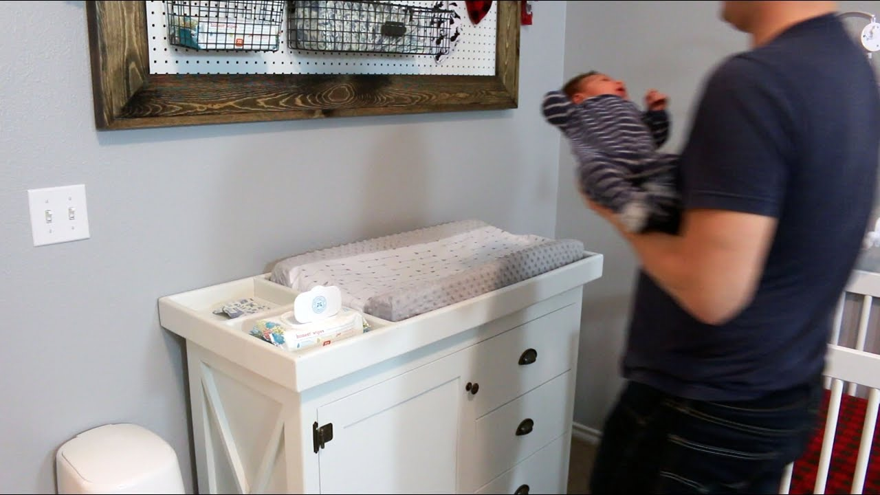 Making A Changing Table Tray   Customizable For Any Dresser | VQC