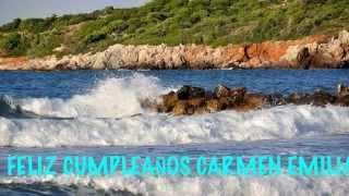 CarmenEmilia Beaches Playas - Happy Birthday