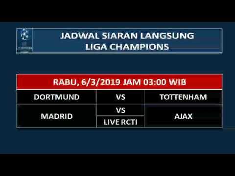 Besar Liga Champions  Jadwal Liga Champions  Live On Rcti