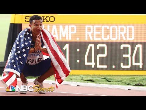 Donavan Brazier re-lives miraculous 800m comeback, 2019 world title race | NBC Sports