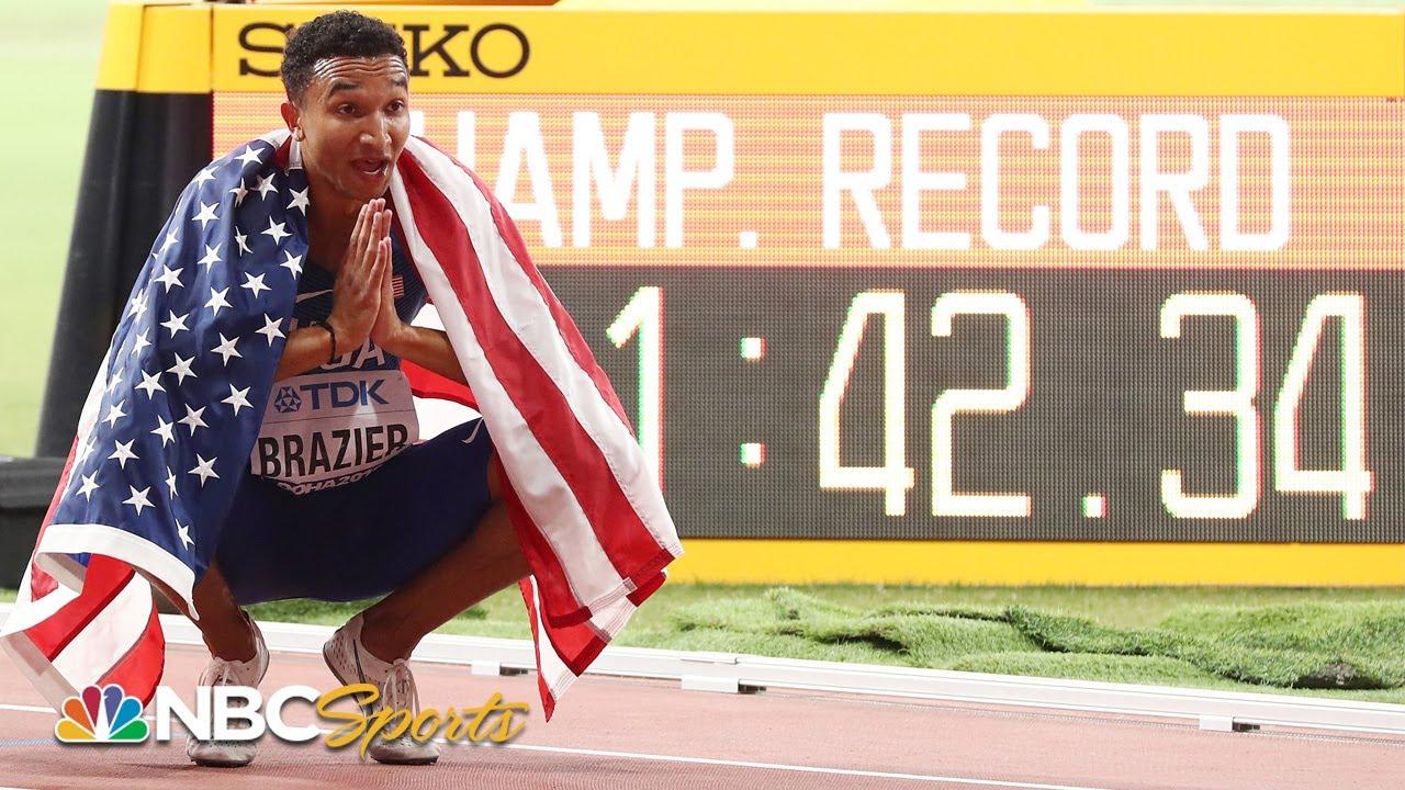 Donavan Brazier re-lives miraculous 800m comeback, 2019 world title race   NBC Sports