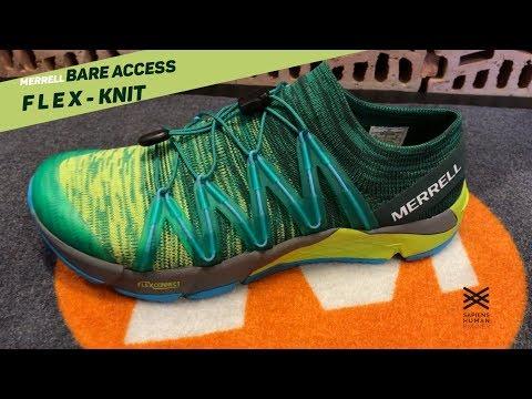 Análisis Merrell bare access flex knit YouTube