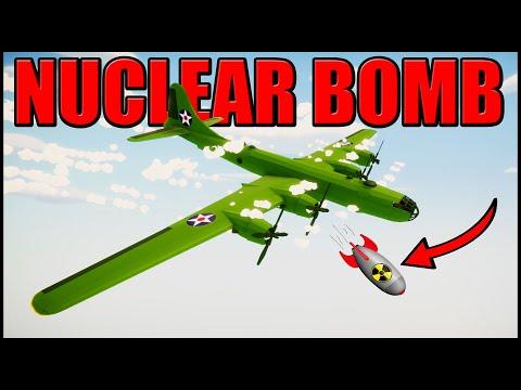 HUGE USA Nuclear Bomb DROP!? - Total Tank Simulator