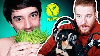 Unge REAGIERT auf Wie redet man mit Veganern? | #ungeklickt