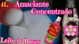 AMACIANTE LEITE DE ROSAS CONCENTRADO