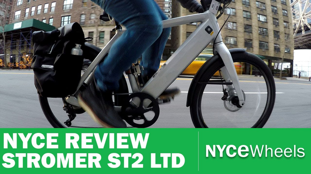 Stromer ST2 Limited Edition   Luxury Electric Bike Review