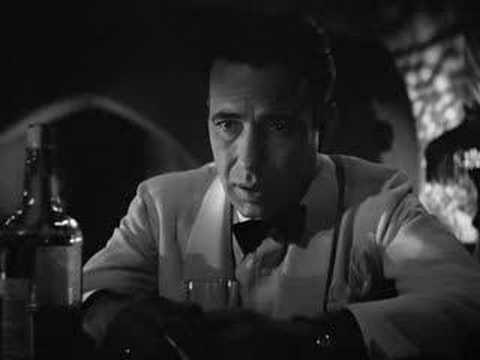 "Casablanca - Rick's ""play it Sam"""