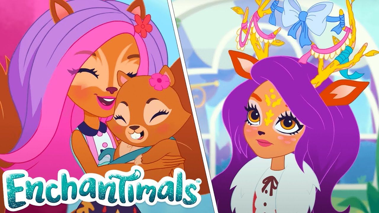 Download 😱 Missing Antlers and New Neighbours?! 😱   The Enchantimals Full Episodes   Tales From the Everwilde