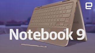 Samsung Notebook 9 Pen hands-on at CES 2018