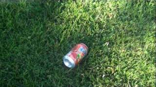 i kick a soda can Thumbnail