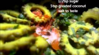 Pavakkai Poriyal / Bitter Gourd Curry