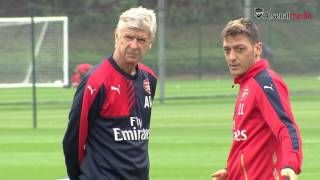 Putting in the work: An exclusive look at Arsenal training