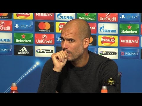 Pep Guardiola Full Pre-Match Press Conference - Manchester City v Borussia Monchengladbach