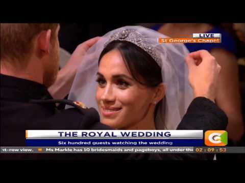 Prince Harry marries Meghan Markle at St. George's Chapel, England