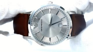 hands on with the men s emporio armani watch ar2463