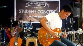 Klemens Jeremy Cover Speak Softly Love-Slash (murid kursus gitar elektrik)