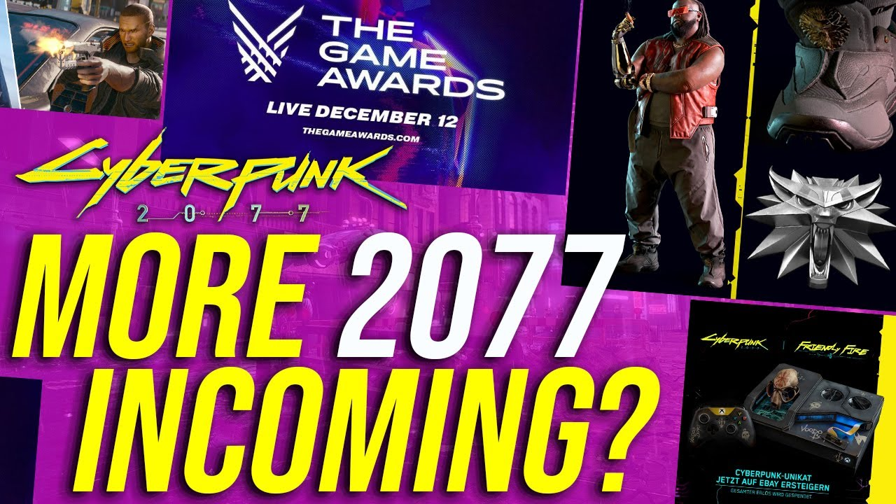 Cyberpunk 2077 News - VGAs 2019, Easter Eggs, Body Types & Languages!