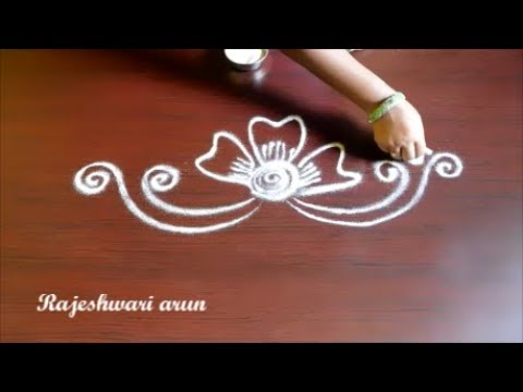 Simple Rangoli Designs Without Dots Easy Small Kolam Designs