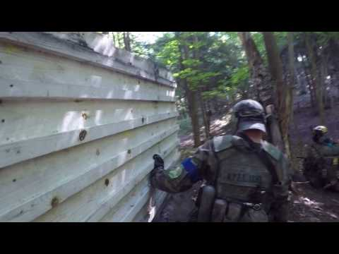 Defend the hill and attack the airstrip Wasaga beach paintball Hostile takeover episode 1