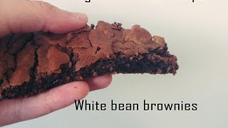 Vegan Brownies Recipe - White Bean Brownies