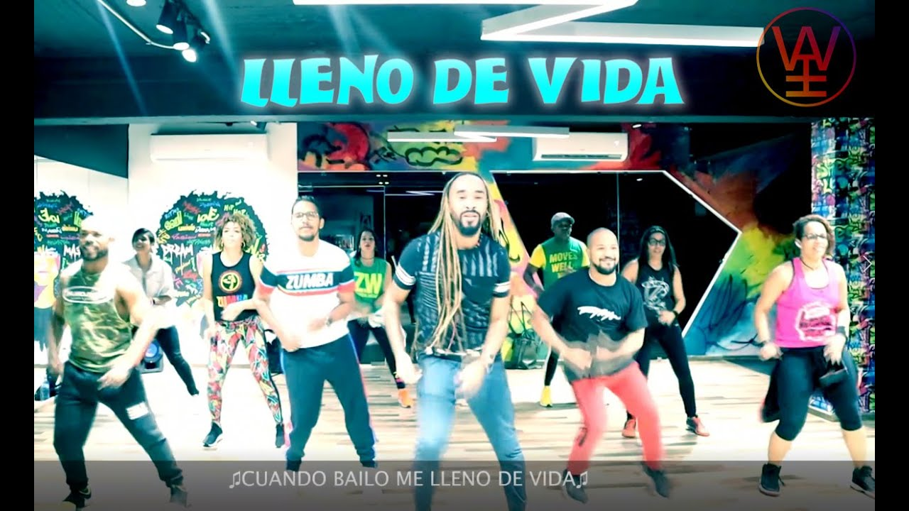 Dance/Sing Along With The Lyrics To ♫LLENO DE VIDA♫