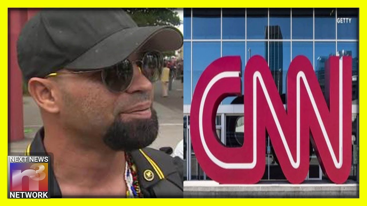 Cringe! CNN Lib Repeatedly Owned By Proud Boys Leader Enrique Tarrio at Portland Protest