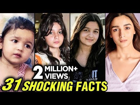 Alia Bhatt 31 SHOCKING UNKNOWN Facts  Happy Birtay Alia Bhatt
