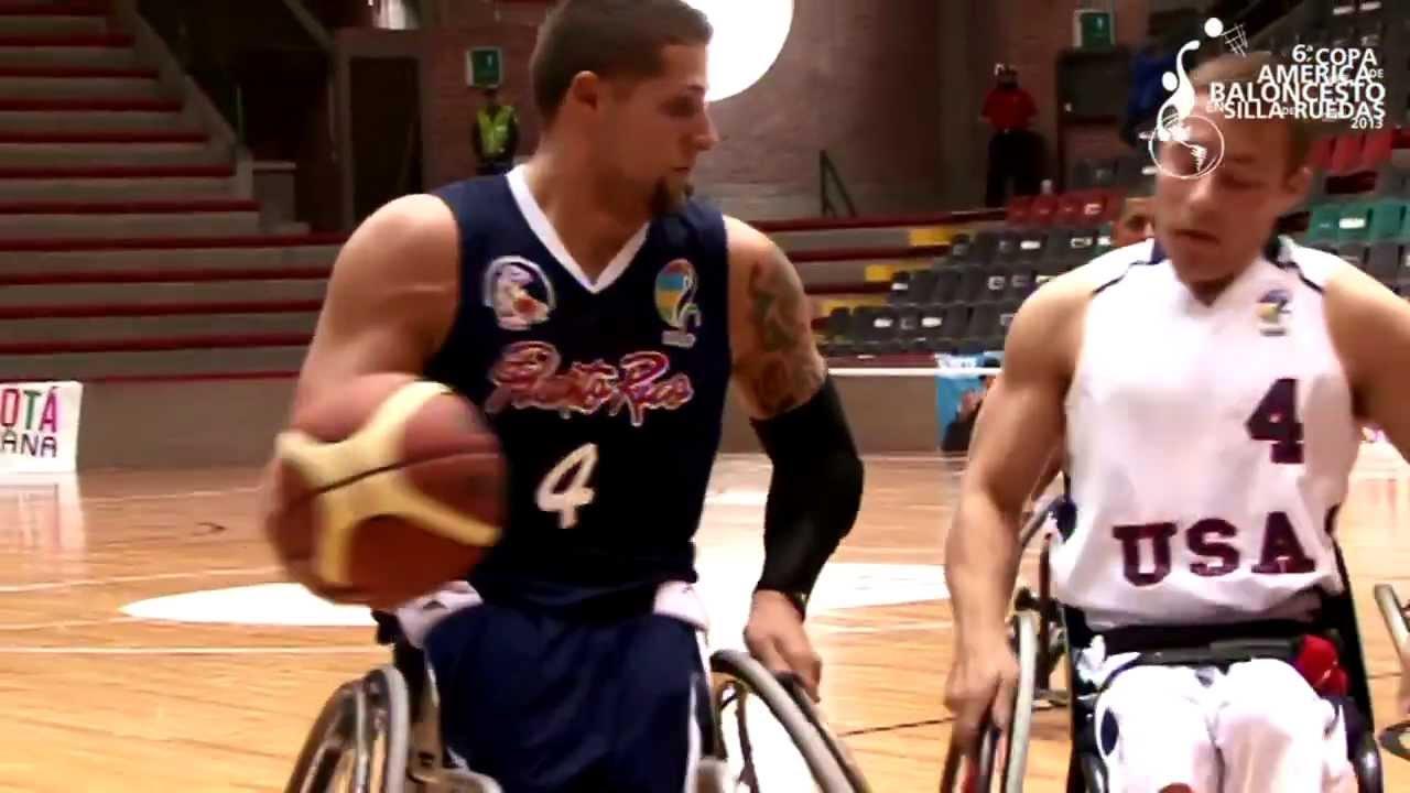 Puerto rico en la copa am rica de baloncesto en silla de ruedas 2013 youtube - Baloncesto silla de ruedas ...