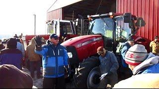 CaseIH Maxxum 125 and IHC 1086 Tractors Sold on Ohio Farm Auction Today