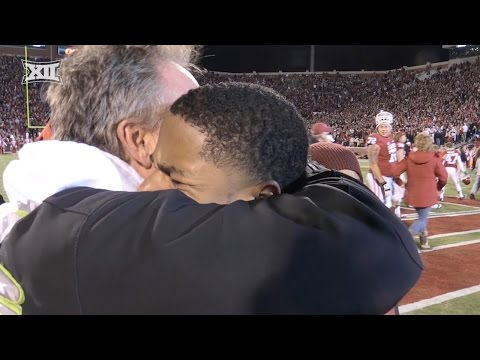 Special Gift for Oklahoma's Sterling Shepard