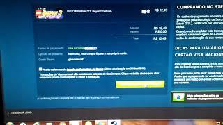 Steam como compra jogo pelo cartão