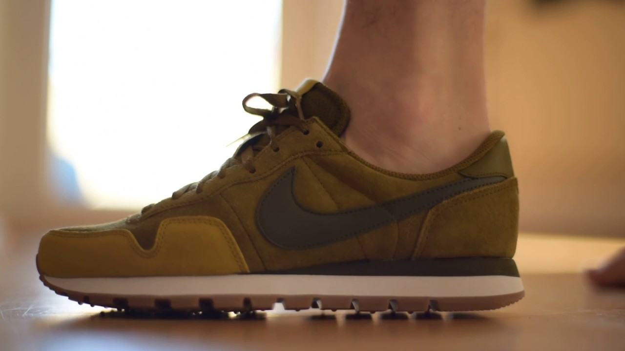 ba55f049d73c Nike Air Pegasus 83 LTR green olive shoes - Sneaker Schuh Review - just do  it