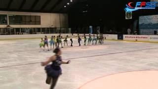 Space Coast Huricanes, Nation Cup 2015, Colombes, category junior