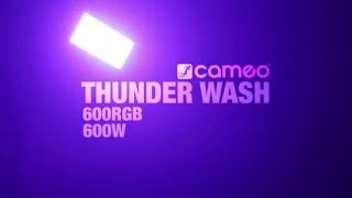 Cameo THUNDER WASH 600 - 3 in 1 Strobe, Blinder and Wash Light 648 x 0.2 W