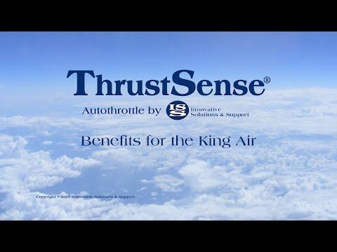 Benefits of the IS&S ThrustSense Autothrottle