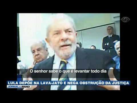 Lula presta depoimento como réu na Lava Jato
