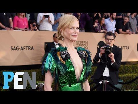 Nicole Kidman's SAG Awards Plunging 'Statement Dress' | PEN | Entertainment Weekly
