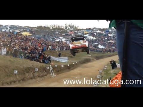 WRC amazing jump