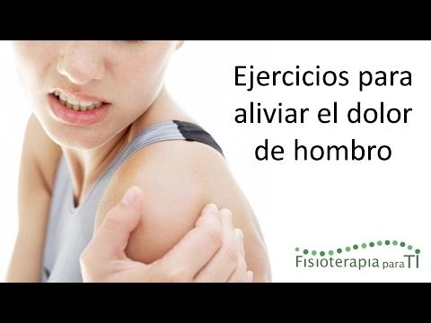 Cmo aliviar el dolor de hombro con 4 ejercicios