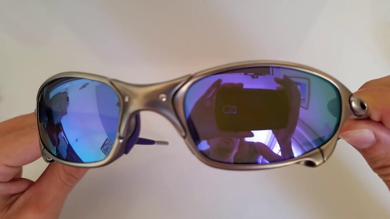 ecb817378c Óculos Oakley Juliet Infinite Hero x-metal plasma Violet Iridium ...