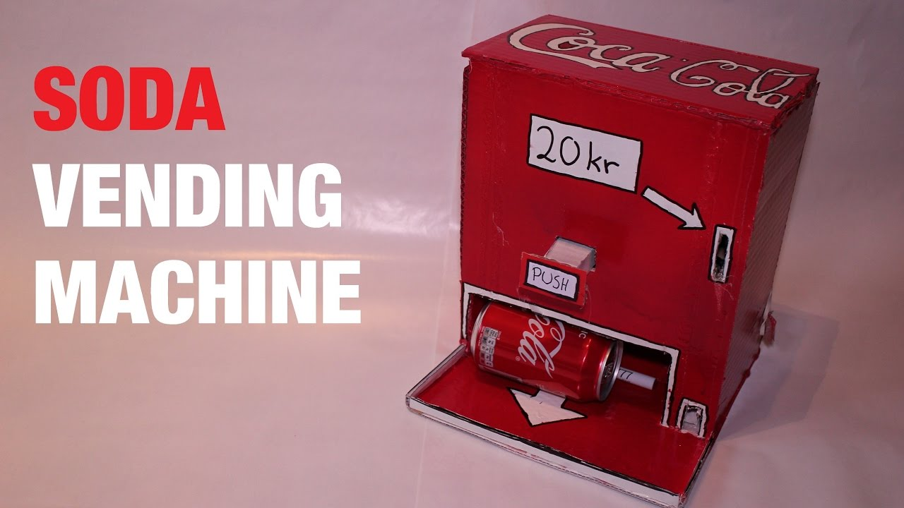 vending machine measurements