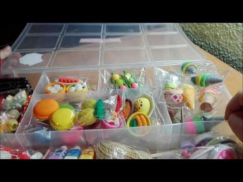 coleccion de gomas kawaii alimentos,belleza y deportes