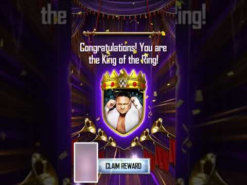 Won at king of the ring| WWE SuperCard