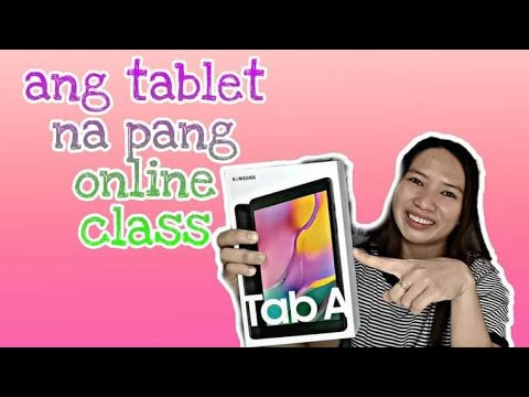 Unboxing|Quick Review Samsung Tab A 8.0 2019 (budget Price Na Tablet) Philippines