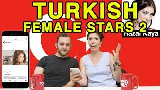 Like, DM, Unfollow: Turkish Females Stars 2
