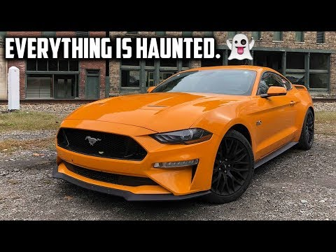 Driving to Haunted Spots in the United States in 2018 Mustang GT