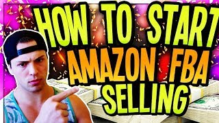 How To Start Selling On Amazon FBA For Beginners! Easy Step-by-Step Tutorial