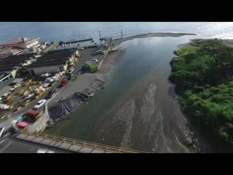 New West Bridge and Retaining Wall Project - Dominica. Roseau River Perspectives.