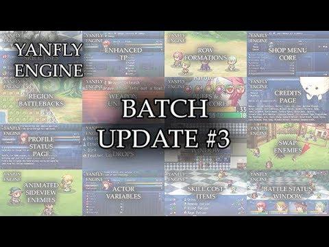 Yanfly Engine Plugins - Batch Update #3 - RPG Maker MV ...
